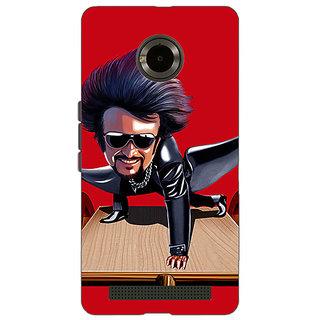 Jugaaduu Rajni Rajanikant Back Cover Case For Micromax Yu Yuphoria - J891487