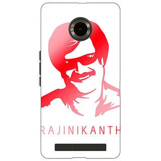 Jugaaduu Rajni Rajanikant Back Cover Case For Micromax Yu Yuphoria - J891493