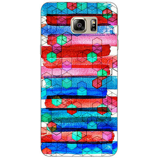 Jugaaduu Colourful Winter Pattern Back Cover Case For Samsung S6 Edge+ - J900279