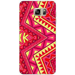 Jugaaduu Floral Pattern  Back Cover Case For Samsung S6 Edge+ - J900667