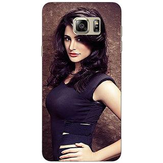 Jugaaduu Bollywood Superstar Nargis Fakhri Back Cover Case For Samsung S6 Edge+ - J901022