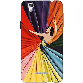 Jugaaduu Colours Back Cover Case For Micromax Yu Yureka - J881381