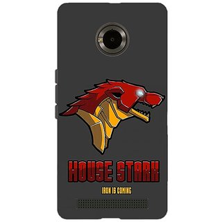 Jugaaduu Game Of Thrones GOT House Stark  Back Cover Case For Micromax Yu Yuphoria - J890126