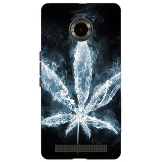 Jugaaduu Weed Marijuana Back Cover Case For Micromax Yu Yuphoria - J890498