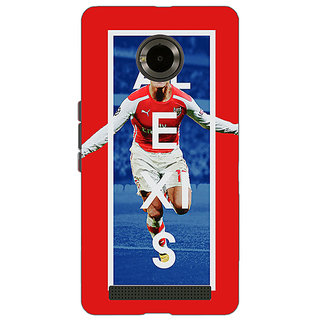 Jugaaduu Arsenal Alexis Sanchez Back Cover Case For Micromax Yu Yuphoria - J890506