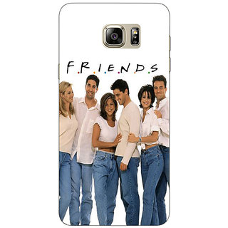 Jugaaduu TV Series FRIENDS Back Cover Case For Samsung S6 Edge+ - J900345