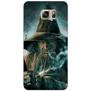 Jugaaduu LOTR Hobbit Gandalf Back Cover Case For Samsung S6 Edge+ - J900364