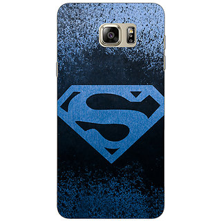 Jugaaduu Superheroes Superman Back Cover Case For Samsung S6 Edge+ - J900393