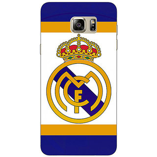 Jugaaduu Real Madrid Back Cover Case For Samsung Galaxy Note 5 - J910594