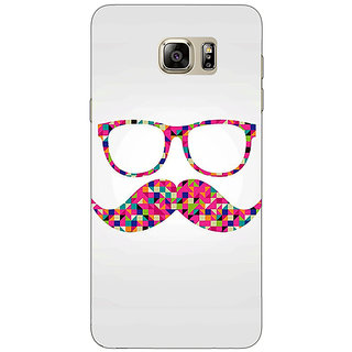 Jugaaduu Mustache Back Cover Case For Samsung S6 Edge+ - J900751