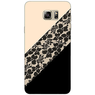 Jugaaduu Lace Pattern Back Cover Case For Samsung S6 Edge+ - J900761