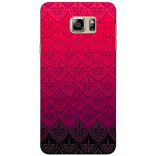 Jugaaduu Shades Of Pink Back Cover Case For Samsung S6 Edge+ - J900768