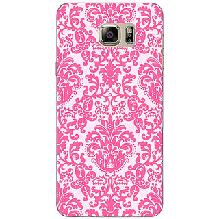 Jugaaduu Pretty Pink Back Cover Case For Samsung S6 Edge+ - J900770