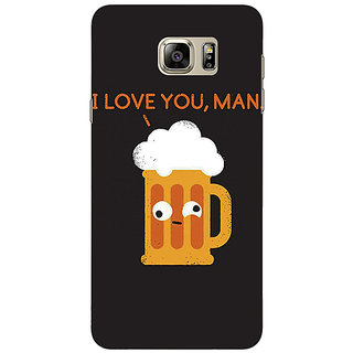 Jugaaduu Beer Quotes Back Cover Case For Samsung S6 Edge+ - J901447