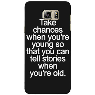 Jugaaduu Quote Back Cover Case For Samsung S6 Edge+ - J901476