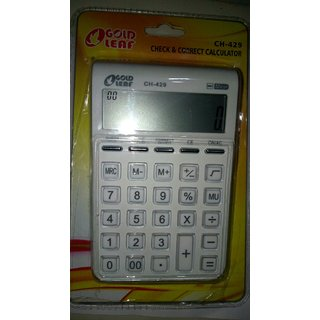 Gold leaf ch-429 (12 digit check and correct calculator)