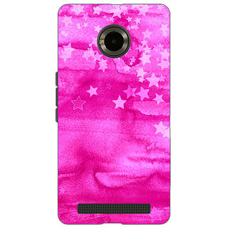 Jugaaduu Star Morning Pattern Back Cover Case For Micromax Yu Yuphoria - J890221
