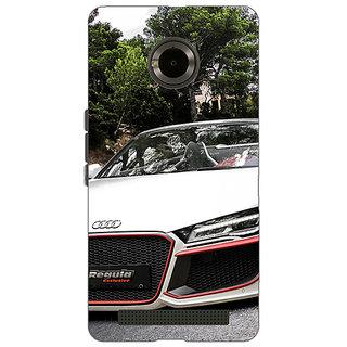Jugaaduu Super Car Audi Back Cover Case For Micromax Yu Yuphoria - J890618