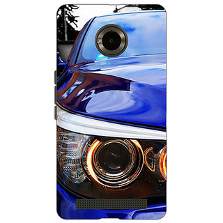 Jugaaduu Super Car BMW Back Cover Case For Micromax Yu Yuphoria - J890636