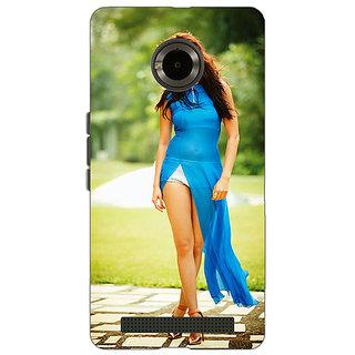 Jugaaduu Bollywood Superstar Anushka Sharma Back Cover Case For Micromax Yu Yuphoria - J890987