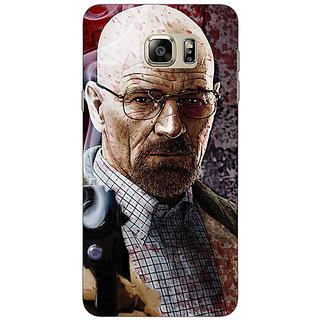 Jugaaduu Breaking Bad Heisenberg Back Cover Case For Samsung S6 Edge+ - J900418