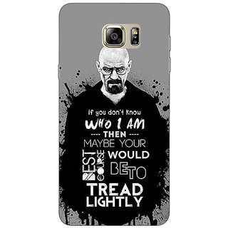 Jugaaduu Breaking Bad Heisenberg Back Cover Case For Samsung S6 Edge+ - J900427