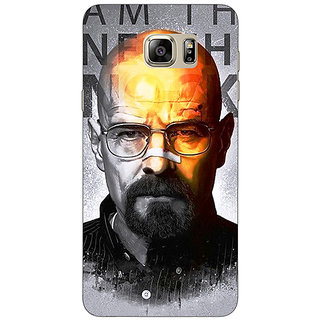 Jugaaduu Breaking Bad Heisenberg Back Cover Case For Samsung S6 Edge+ - J900429