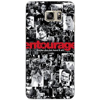 Jugaaduu Entourage Back Cover Case For Samsung S6 Edge+ - J900438