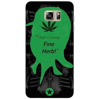 Jugaaduu Entourage Turtle Back Cover Case For Samsung S6 Edge+ - J900440