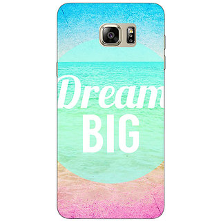 Jugaaduu Dream Quote Back Cover Case For Samsung S6 Edge+ - J900820