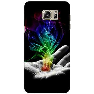 Jugaaduu Magic Hand Back Cover Case For Samsung S6 Edge+ - J900827