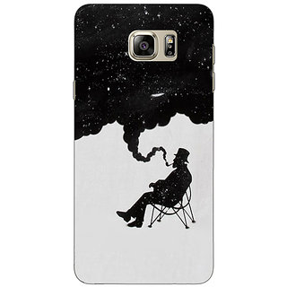 Jugaaduu Night Dreams Back Cover Case For Samsung S6 Edge+ - J900834