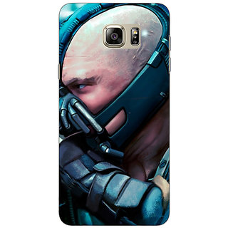 Jugaaduu Super Heroes Batman Bane Back Cover Case For Samsung S6 Edge+ - J900846