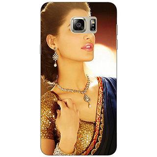 Jugaaduu Bollywood Superstar Nargis Fakhri Back Cover Case For Samsung Galaxy Note 5 - J910997