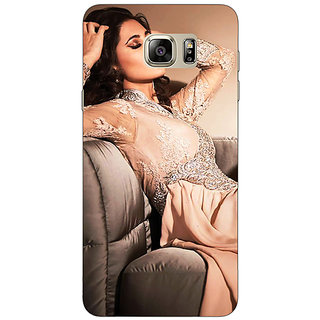 Jugaaduu Bollywood Superstar Nargis Fakhri Back Cover Case For Samsung Galaxy Note 5 - J911010