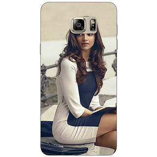 Jugaaduu Bollywood Superstar Deepika Padukone Back Cover Case For Samsung Galaxy Note 5 - J911019