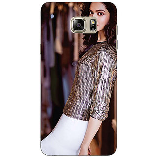 Jugaaduu Bollywood Superstar Deepika Padukone Back Cover Case For Samsung Galaxy Note 5 - J911053