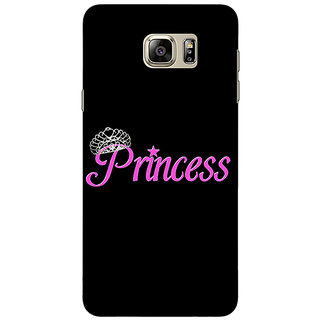 Jugaaduu Princess Back Cover Case For Samsung Galaxy Note 5 - J911398