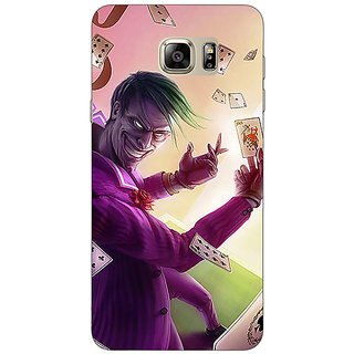 Jugaaduu Joker Back Cover Case For Samsung Galaxy Note 5 - J911441