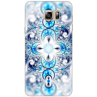 Jugaaduu Abstract Design Pattern Back Cover Case For Samsung S6 Edge+ - J901511