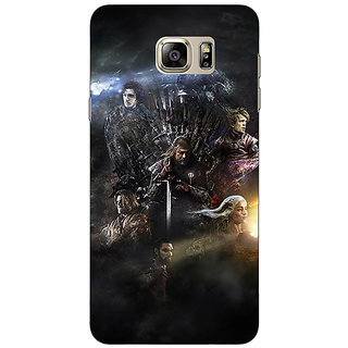 Jugaaduu Game Of Thrones GOT All Back Cover Case For Samsung S6 Edge+ - J901535