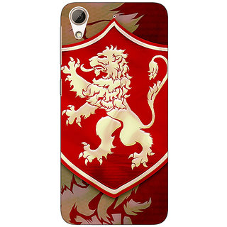 Jugaaduu Game Of Thrones GOT House Lannister  Back Cover Case For HTC Desire 626 - J920161