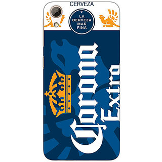 Jugaaduu Corona Beer Back Cover Case For HTC Desire 626 - J921249