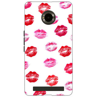 Jugaaduu Kisses Back Cover Case For Micromax Yu Yuphoria - J890701
