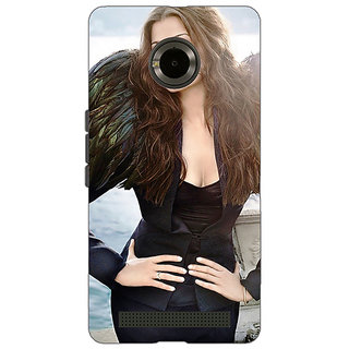 Jugaaduu Bollywood Superstar Aishwarya Rai Back Cover Case For Micromax Yu Yuphoria - J891001