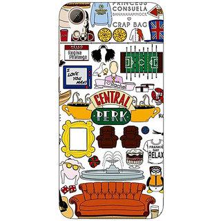 Jugaaduu FRIENDS Back Cover Case For HTC Desire 626G - J930450