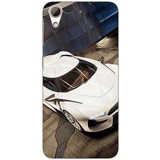 Jugaaduu Super Car Aston Martin Back Cover Case For HTC Desire 626 - J920629