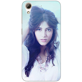 Jugaaduu Bollywood Superstar Shruti Hassan Back Cover Case For HTC Desire 626 - J920988
