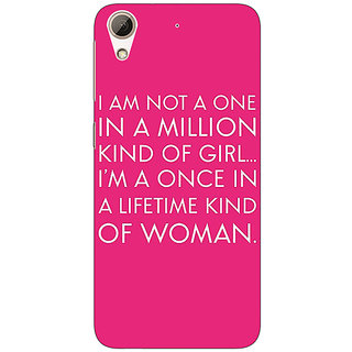 Jugaaduu Quote Back Cover Case For HTC Desire 626 - J921343