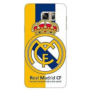 Jugaaduu Real Madrid Back Cover Case For Samsung S6 Edge+ - J900591